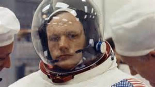Neil Armstrong Goes To Space