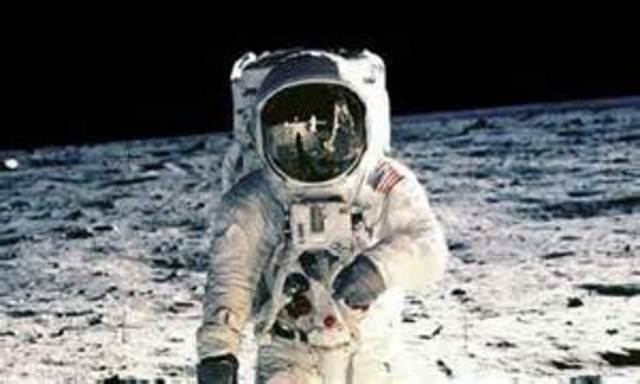 Armstrong's First Step on the Moon