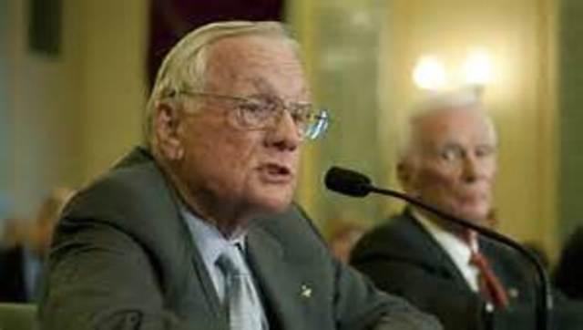 Neil Armstrong Becomes Senator of Ohio