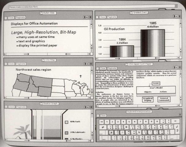 Xerox Star (Primera Hoja de Cálculo)