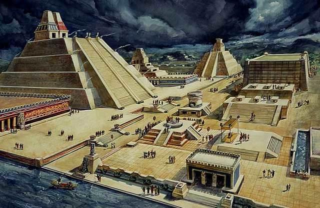 Fundacion de México Tenochtitlán
