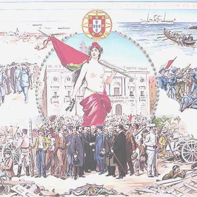 A república portuguesa timeline
