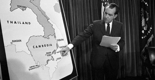 Military incursion into Cambodia