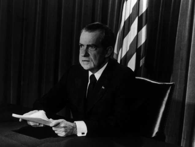 Resignation as president.