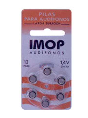 Pilas miniaturas de audiologia