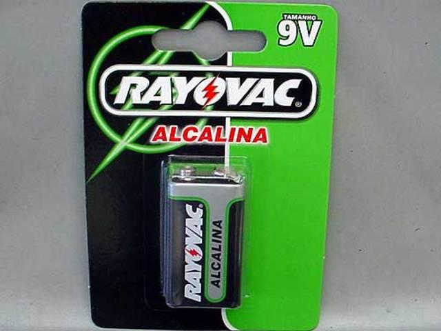 Primera bateria de 9V