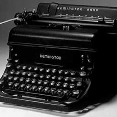 La historia de la máquina de escribir timeline