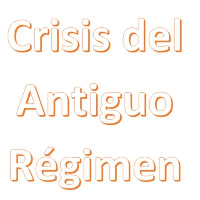 La crisis del antiguo régimen (1808-1833) timeline