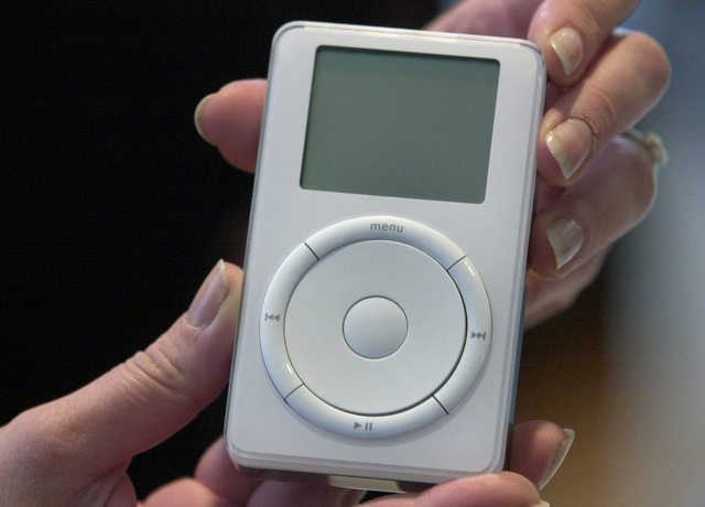 First iPod Released