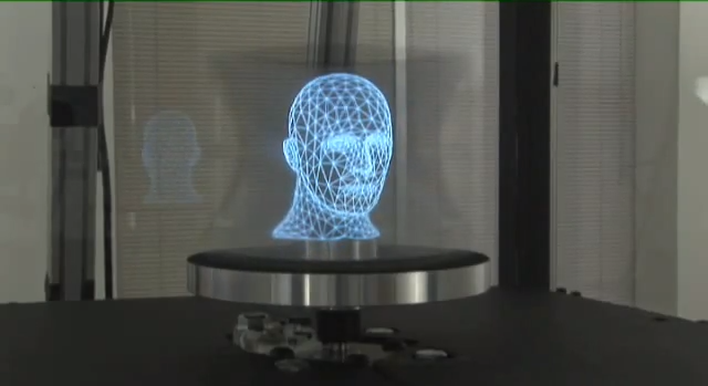 Touchable 3-D Holograms