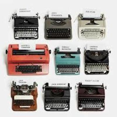 Historia de la máquina de escribir  timeline