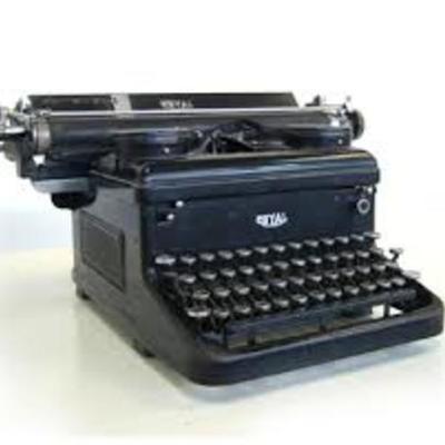 La máquina de escribir timeline