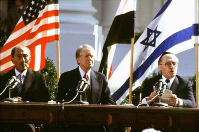 Details of the signing of the israel plo peace treaty