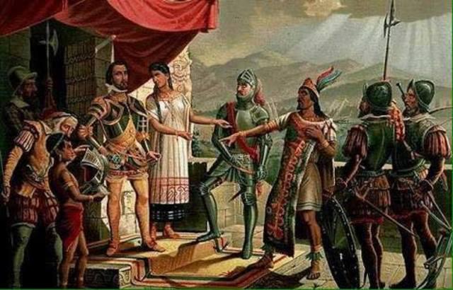 Conquista de México.