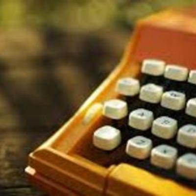 La historia de la maquina de escribir  timeline