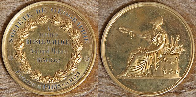 Awarded Société de Géographie Gold Medal