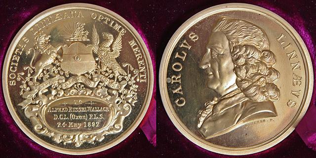 Awarded Linnean Medal