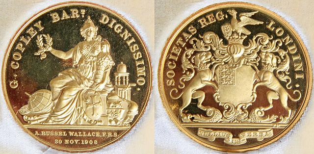 Awarded Royal Society Copley Medal