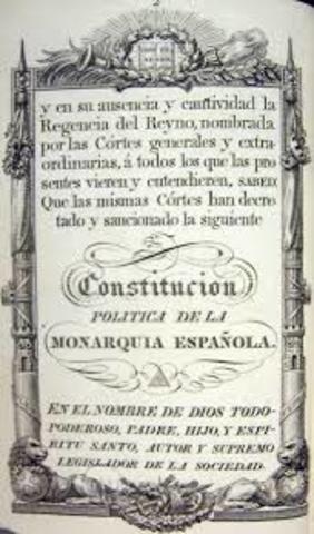 Cnstitución de Cádiz.