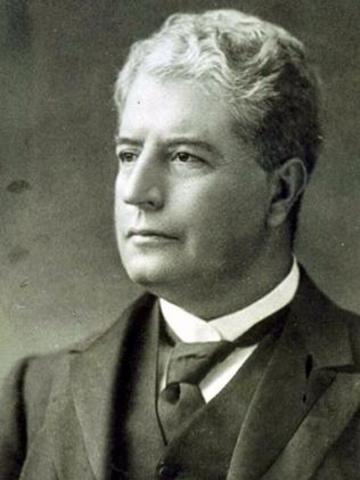 Edmund Barton, First Prime Minister of Australia.