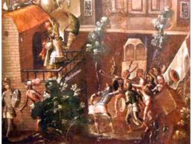 caida de mexico tenochtitlan