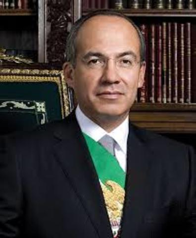 gobierno de Felipe Calderon Hinojosa