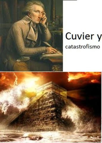 george Cuvier y el catastrofismo