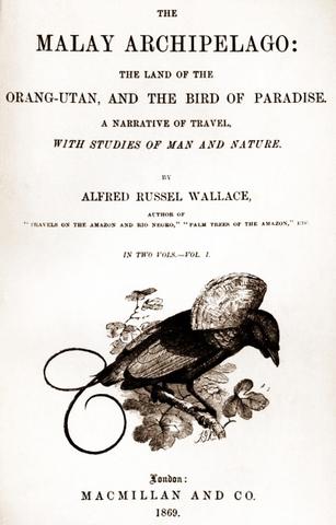 """Published """"The Malay Archipelago"""""""
