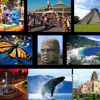 Turismo en México timeline
