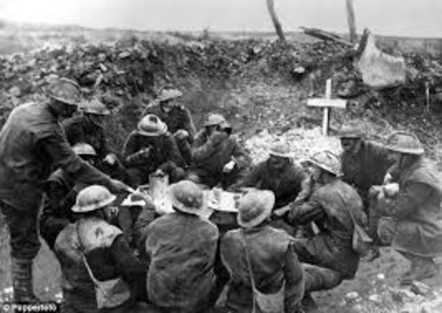 WWI timeline   Timetoast timelines
