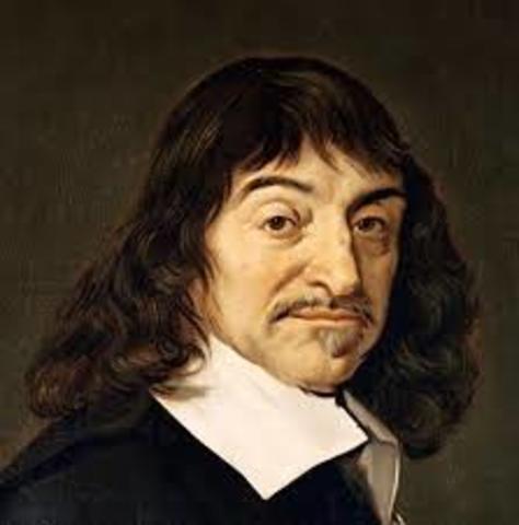 """René Descartes """"Cogito ergo sum"""" (Pienso luego existo)"""