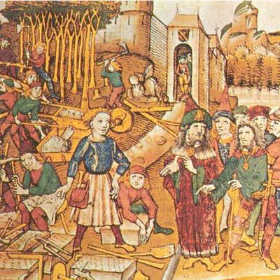 Le Moyen-Age : un monde féodal. timeline