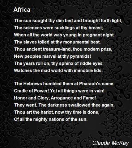 """""""Africa"""""""