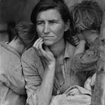 The Great Depression and  1920–1939 timeline