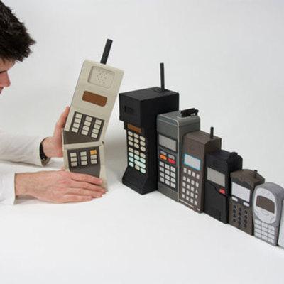 La evolucion de los dispositivos moviles timeline