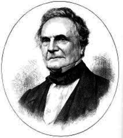 1832 Charles Babbage Inglaterra