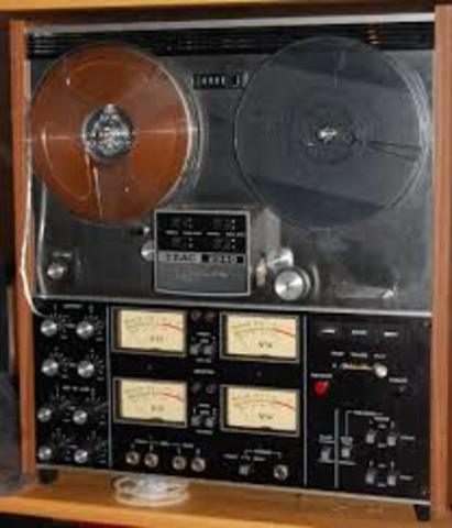 Multi-track analog tape recording