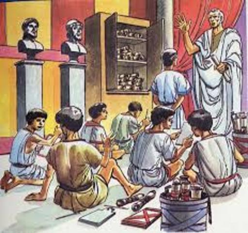 3000 aC. Educación en Grecia, Edad Antigua