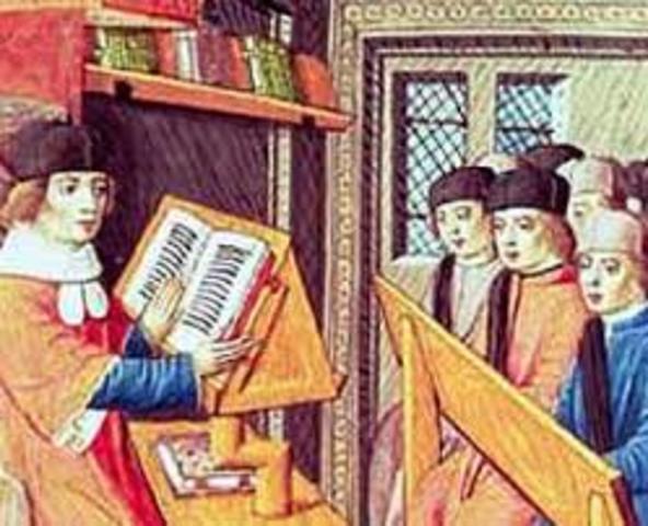 Siglo V Edad Media de la Educación