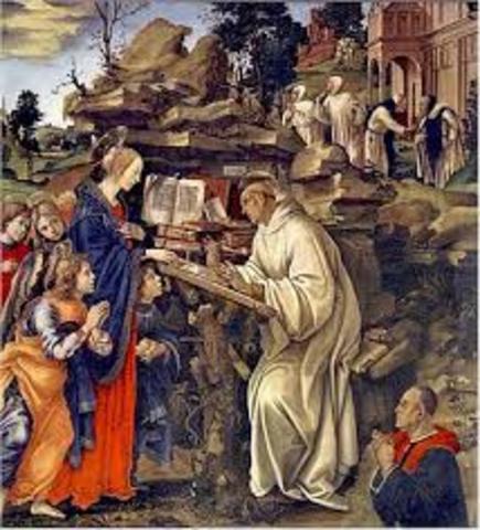 La Patristica, Edad Media  de la Educación