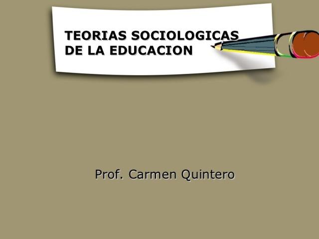 Perspectivas Sociológicas de la Educación, Siglo XX-XXI