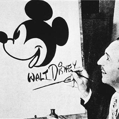 Evolution Of Walt Disney timeline