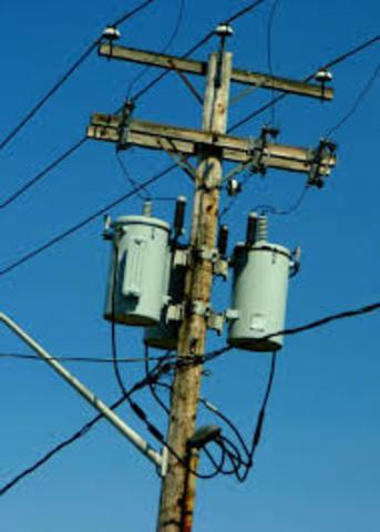 Se introduce la energía eléctrica