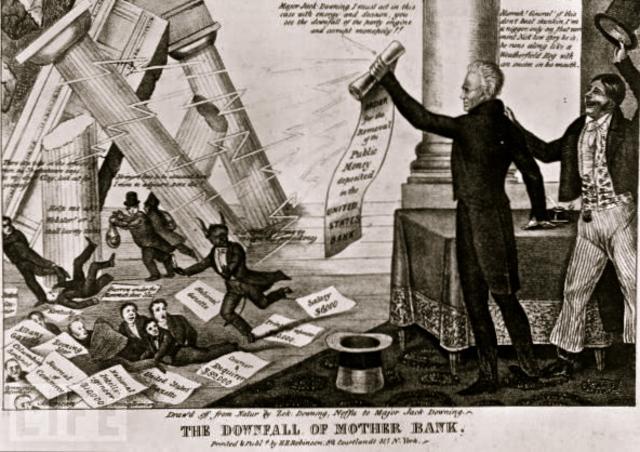 bank war andrew jackson. Modren Andrew Bank War Throughout Andrew Jackson