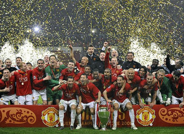 Man utd beat chelsea in champions league final