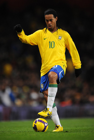 Ronaldinho- the best football player in the world