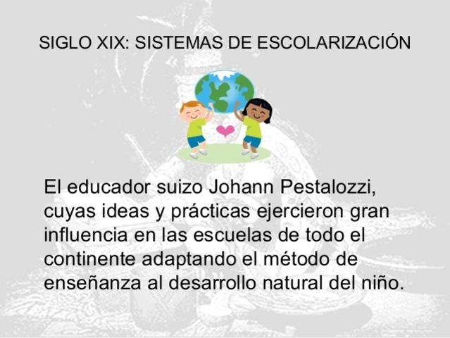 Educación y Desarrollo, Siglo XIX-XX