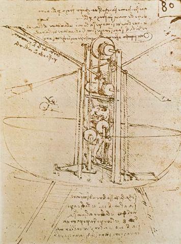 Первые проекты летательных аппаратов