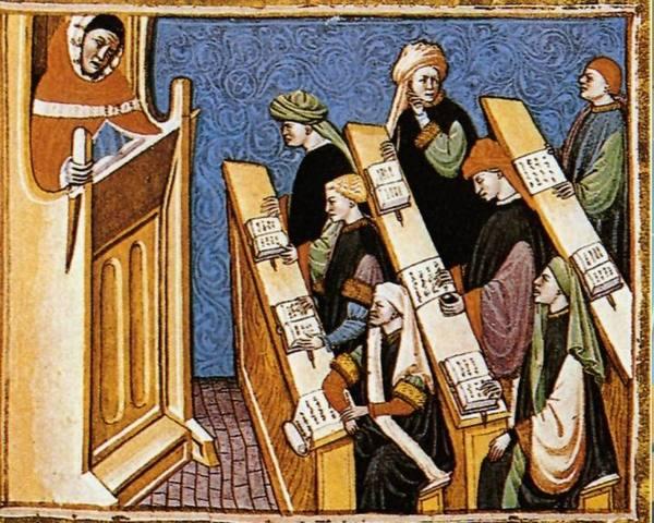 Educacion en la Edad Media Escolastica Siglo VI-XV D.C