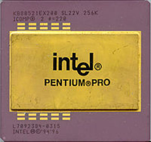 Es presentado el Pentium Pro de Intel